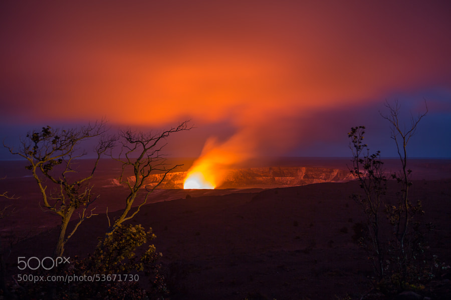 Kīlauea Volcano, Hawaii by Lisa Bettany on 500px.com