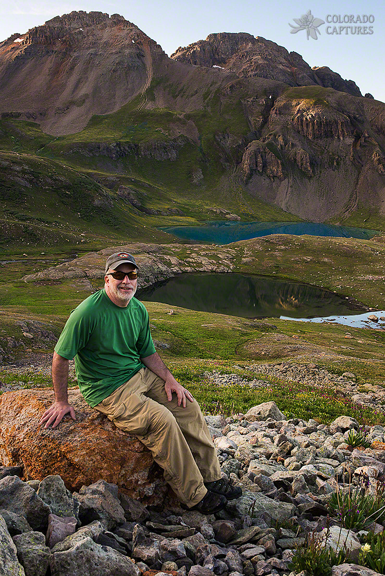 Photograph San Juan Selfie In Ice Lake Basin by Mike Berenson - Colorado Captures on 500px