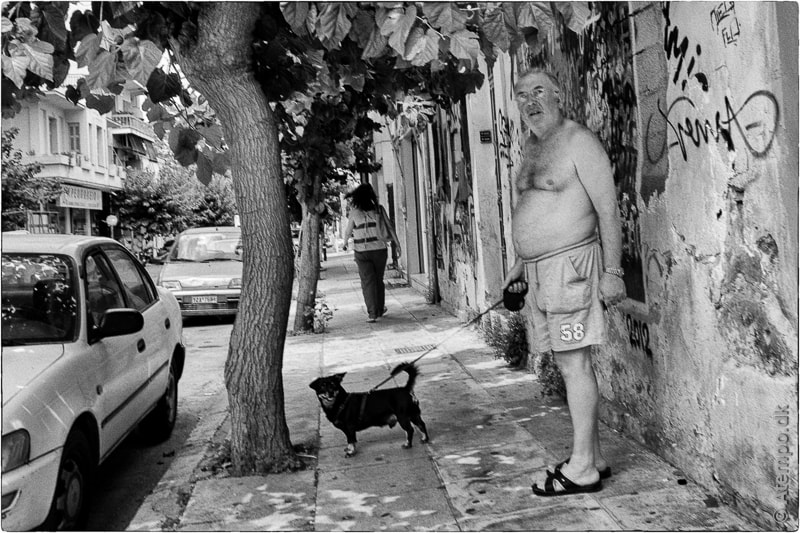 Walking the dog ... Athens View no. 88
