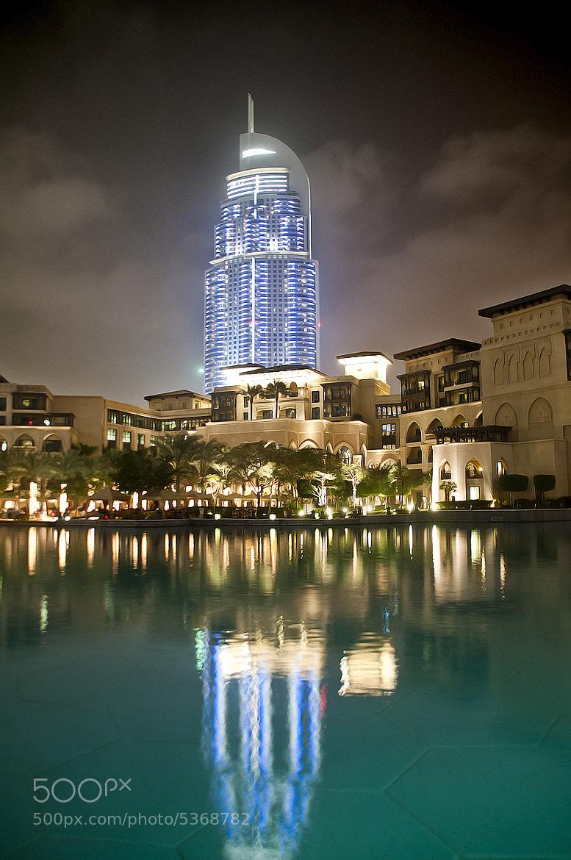 Photograph The Address Hotel Dubai by Aamir Jaffar on 500px