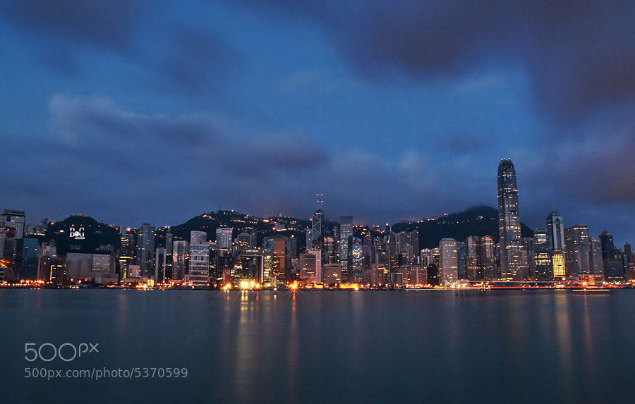 Photograph Dawn in Hongkong by bram BoG on 500px