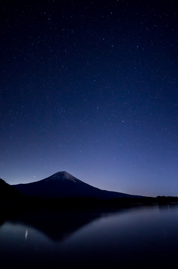 Stars on Fuji by Nao Taco on 500px.com