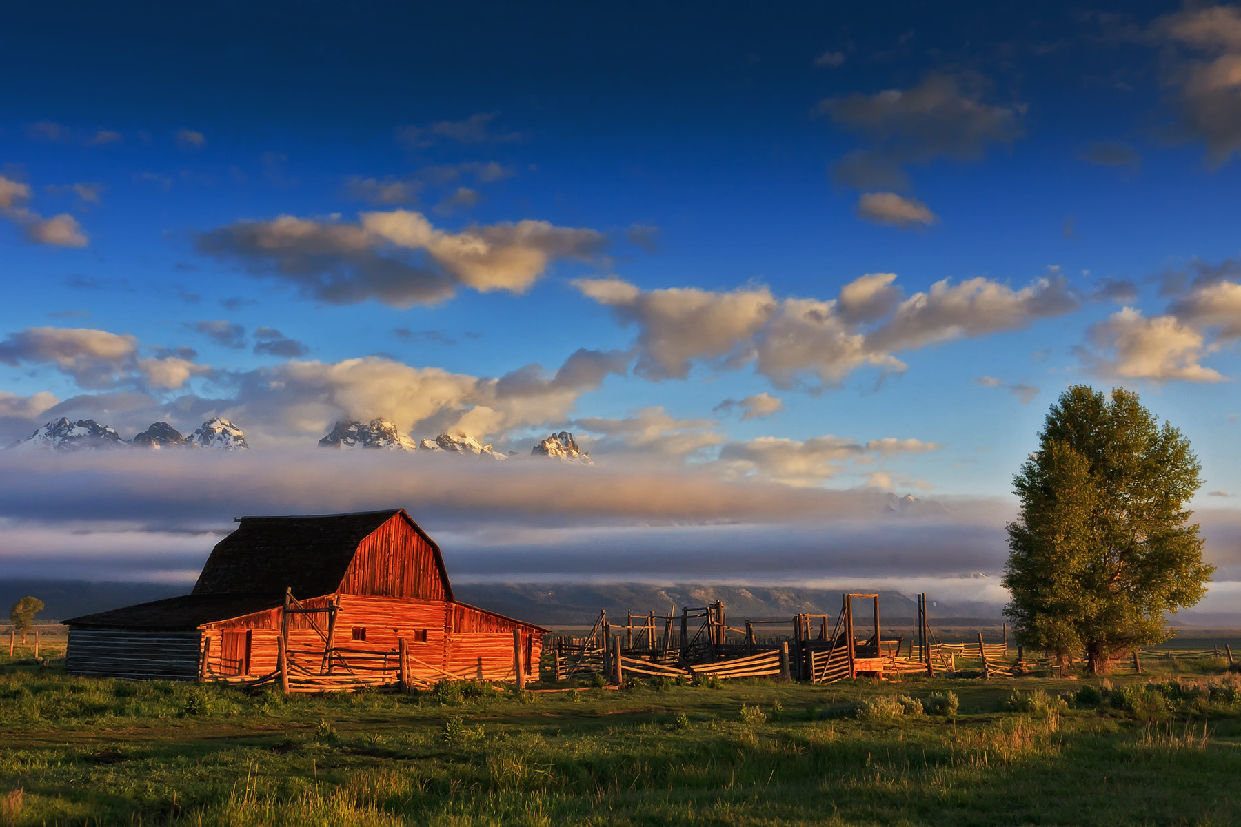 Photograph Another Teton Sunrise by Scott Evers on 500px