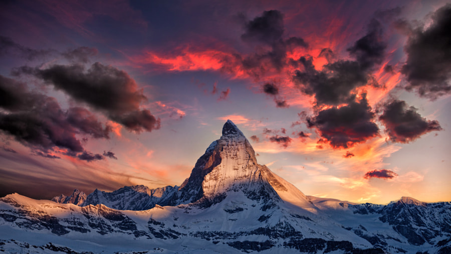Amazing Matterhorn by Thomas Fliegner on 500px.com
