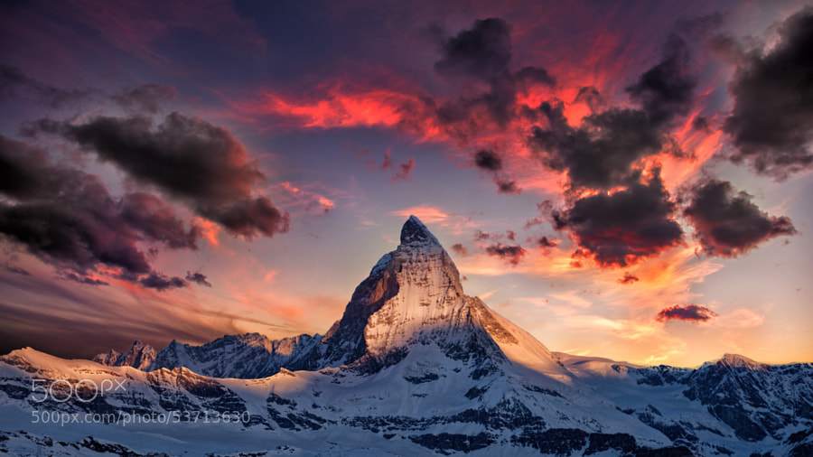 Photograph Amazing Matterhorn by Thomas Fliegner on 500px