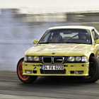 Постер, плакат: BMW 3 25 Turbo