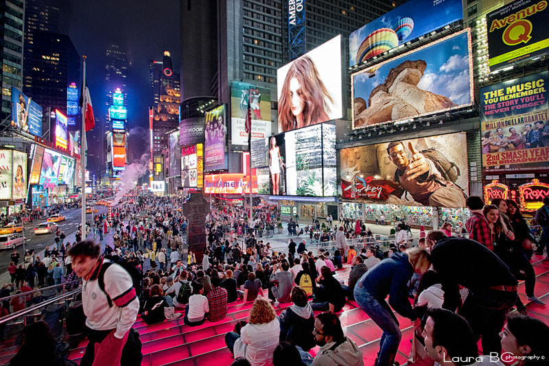 Photograph Times Square...Loving place! by Laura BC on 500px