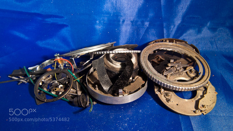 Photograph Camera Guts ... by Bill Wells on 500px