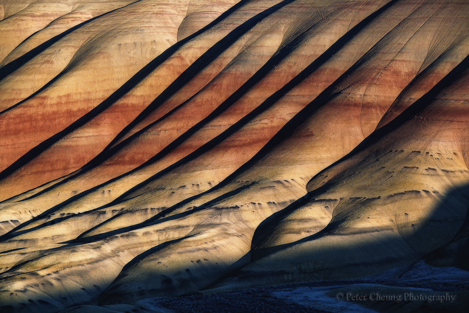 Photograph Painted Hills by Peter Cheung on 500px
