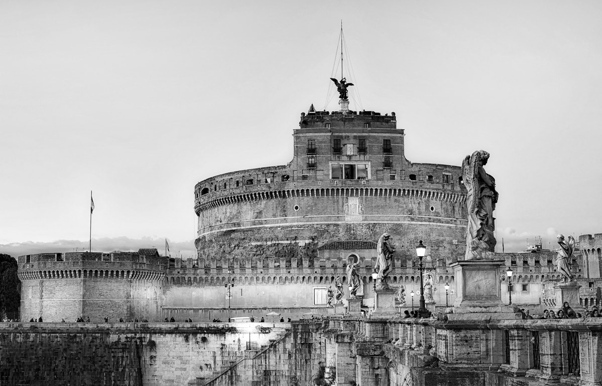 Photograph Castle and bridge S. Angelo by Paolo Costantino on 500px