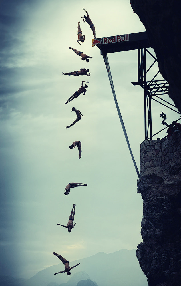 Photograph cliff diving by Kutlu  on 500px