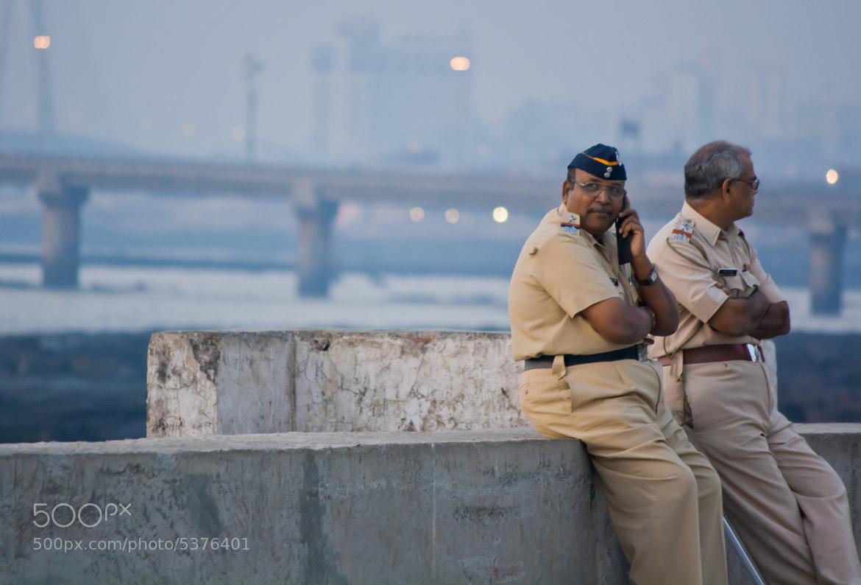 Photograph Mumbai Police  by Jayant Dharmadhikari on 500px