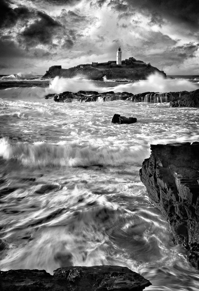 Photograph Waves at Godrevy by Paul Davis on 500px