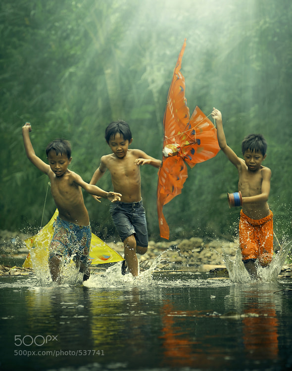 Photograph Childhood 1 by Agah  Permadi on 500px