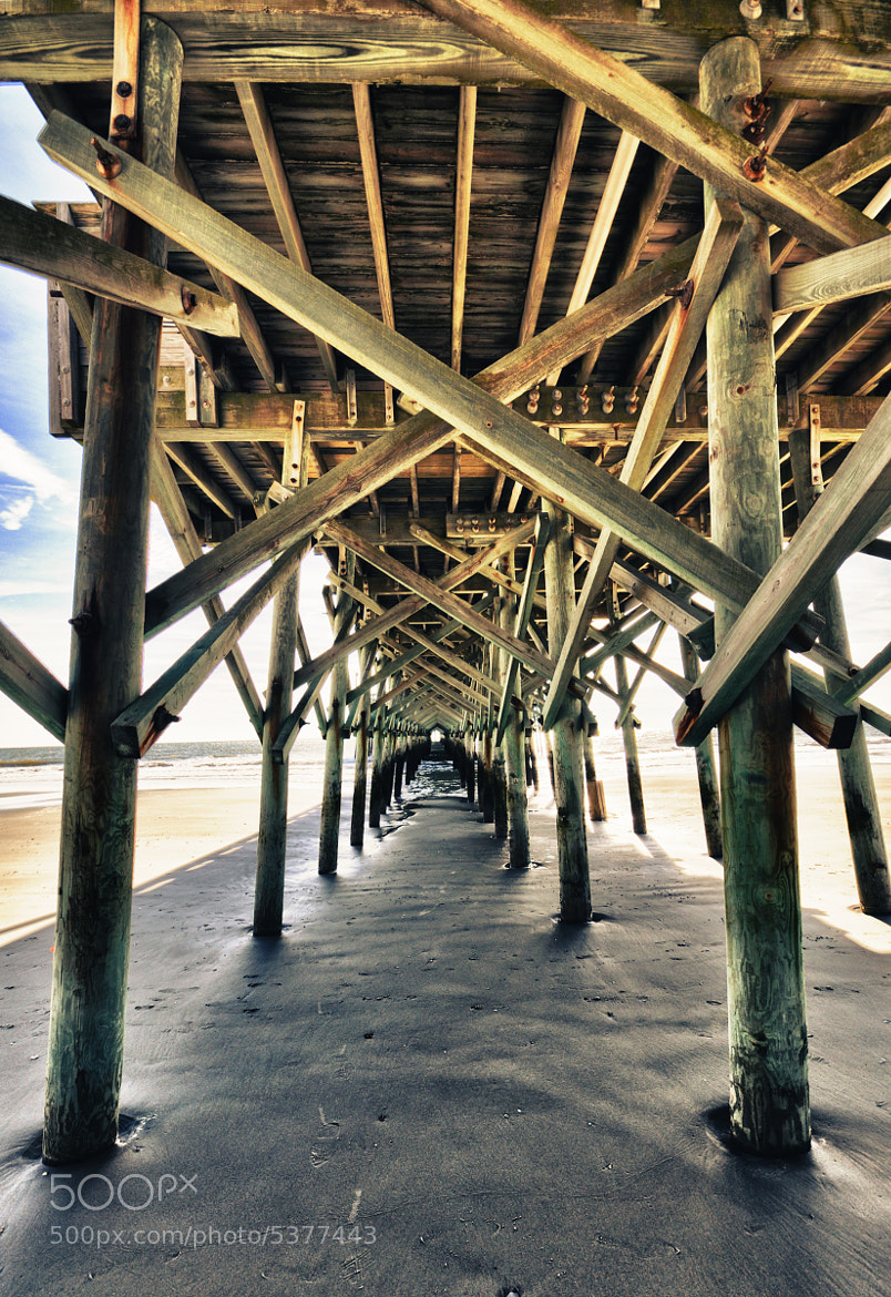 Photograph Under The Pier by Sir Pixxalot on 500px