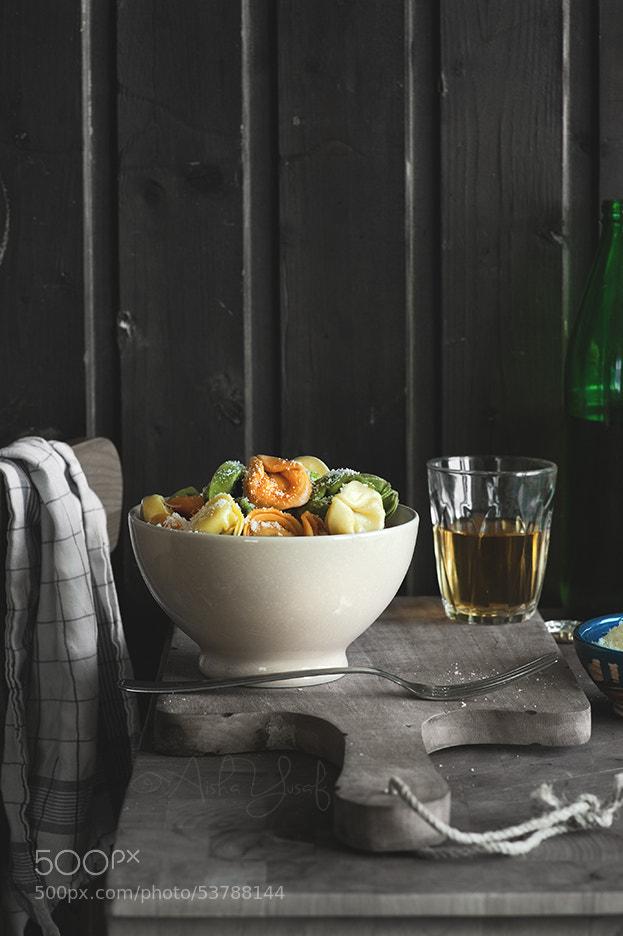 Photograph Bowlful of Tortellini by Aisha Yusaf on 500px