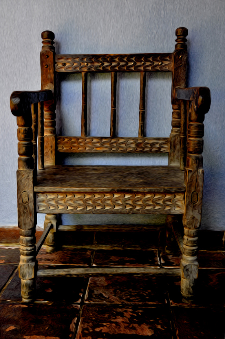 Photograph Antique Chair by Tom Bell on 500px