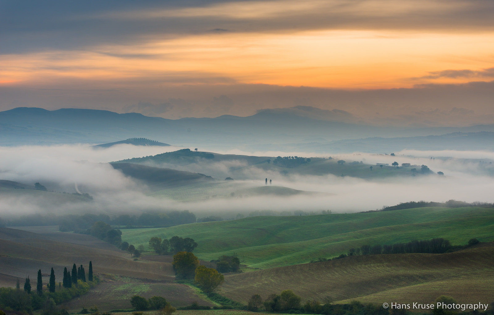 Photograph Early morning mood in Tuscany by Hans Kruse on 500px