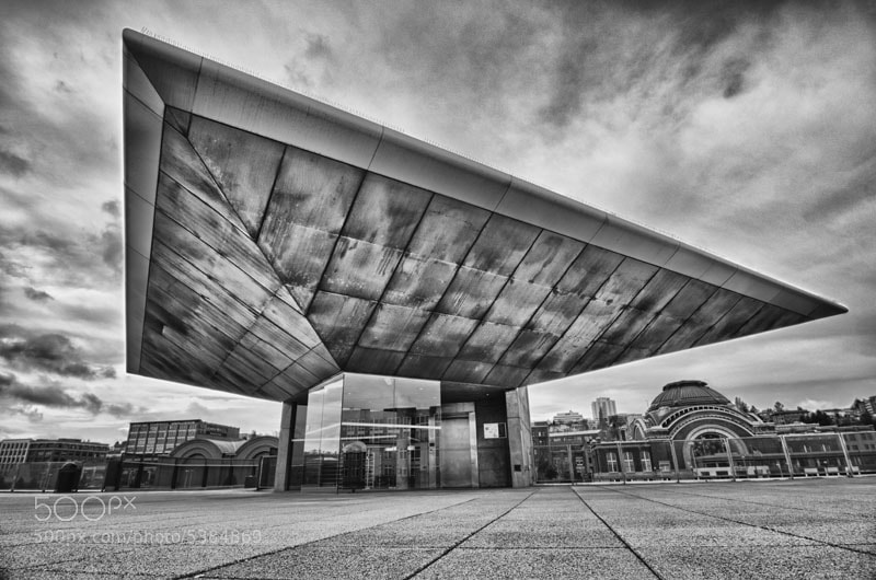 Photograph Tacoma Museum of Glass by Mike Hagen on 500px