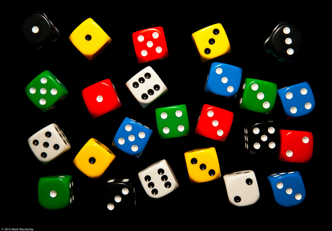 Photograph Dice by Mark Wycherley on 500px