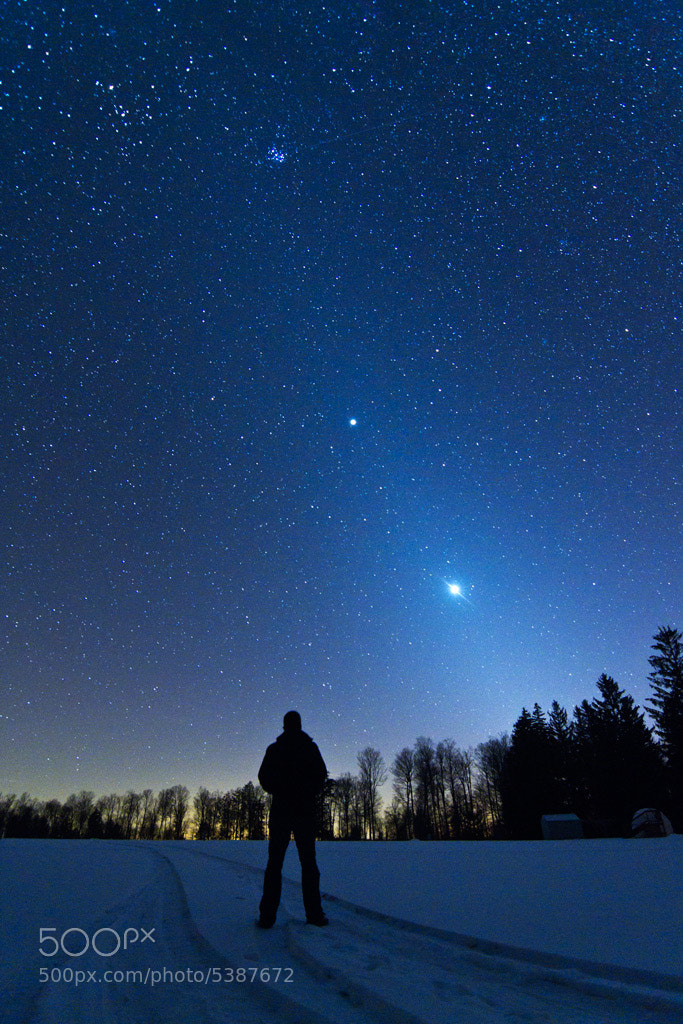 Photograph Zodiacal Skyscape by Jack Fusco on 500px
