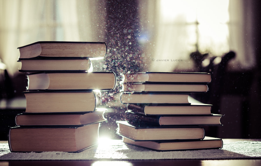 Photograph Books and Dust by Javier Luces on 500px