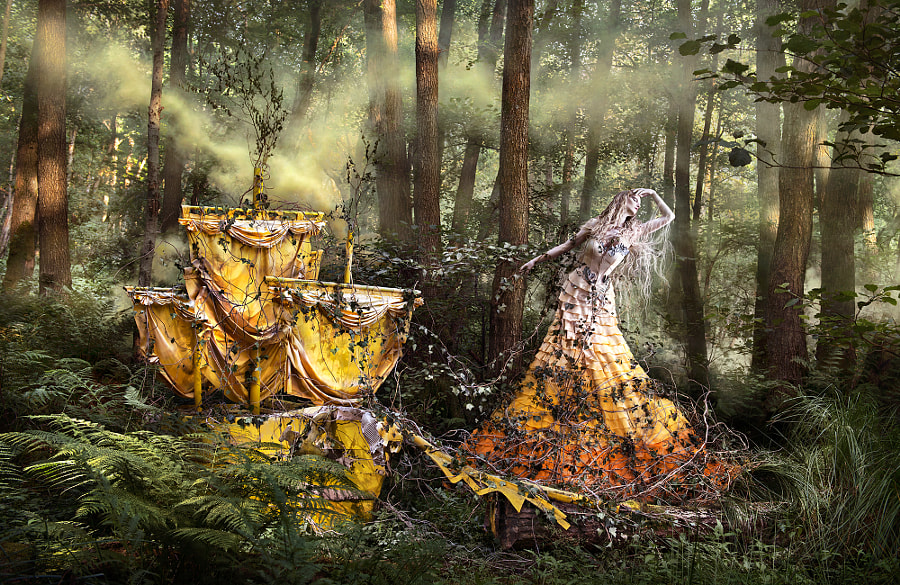 Photograph Wonderland - 'She'll Wait For You In The Shadows Of Summer' by Kirsty Mitchell on 500px