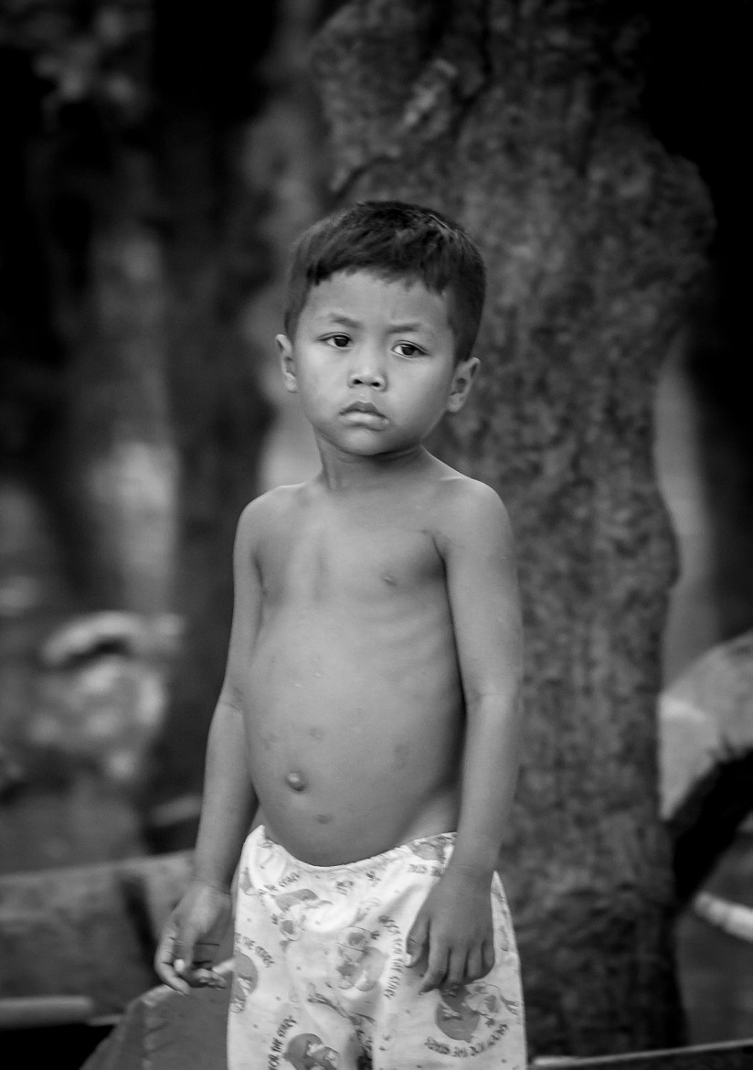 Photograph Cambodian Boy by Declan Keane on 500px