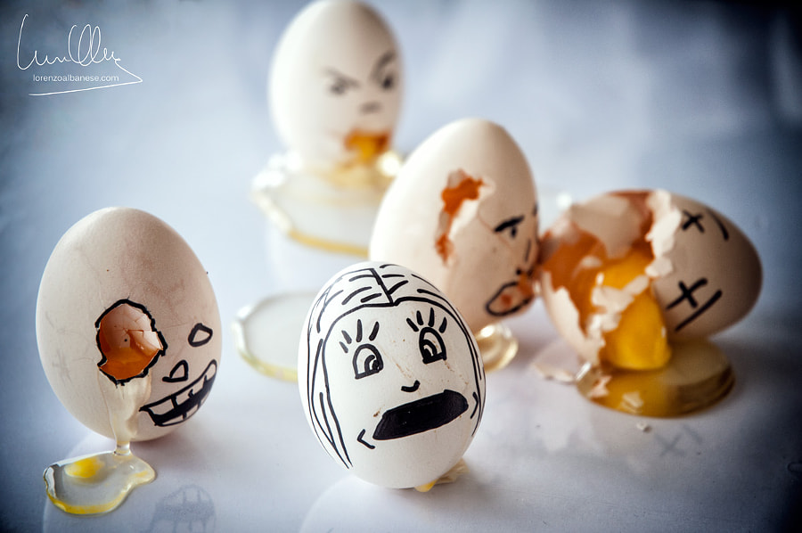 Eggs Zombies by Lorenzo Albanese on 500px.com