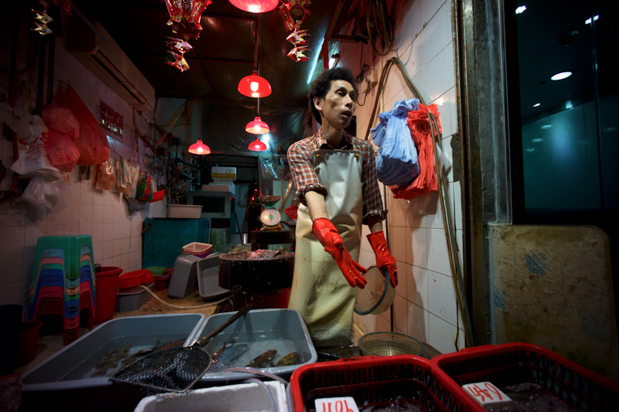 Photograph fish monger by rocco paduano on 500px