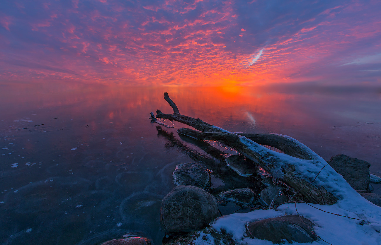 Photograph Fire and Ice by G A  S on 500px