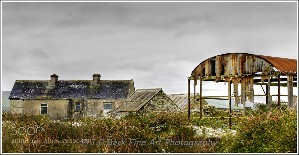 Photograph Farm at Downpatrick Head, County Mayo by J. E. Bark on 500px