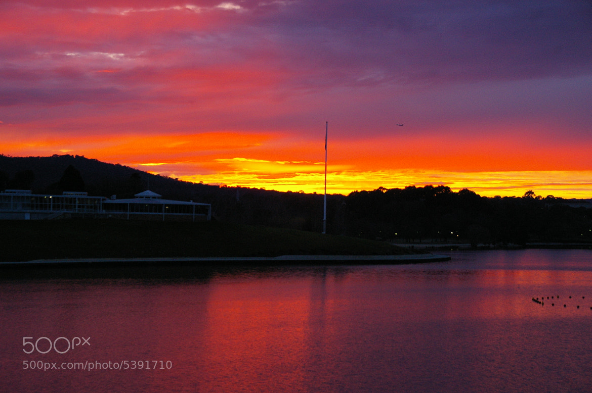 Photograph Burley Griffin Dawn by David McMahon on 500px