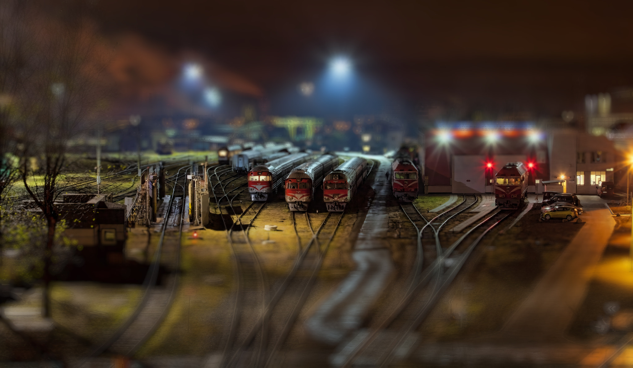 Photograph Toy Trains by Laimonas Ciūnys on 500px