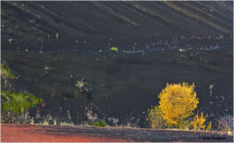 Photograph volcano in fall by Quim Dasquens on 500px