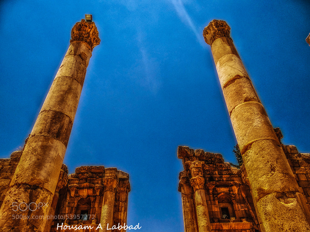 Photograph High Roman Nymphs Columns by Housam A Labbad on 500px