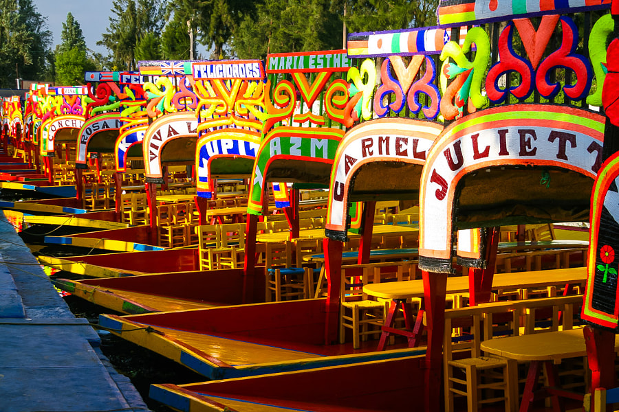 Photograph Trajineras Xochimilco by Jorge Robles on 500px