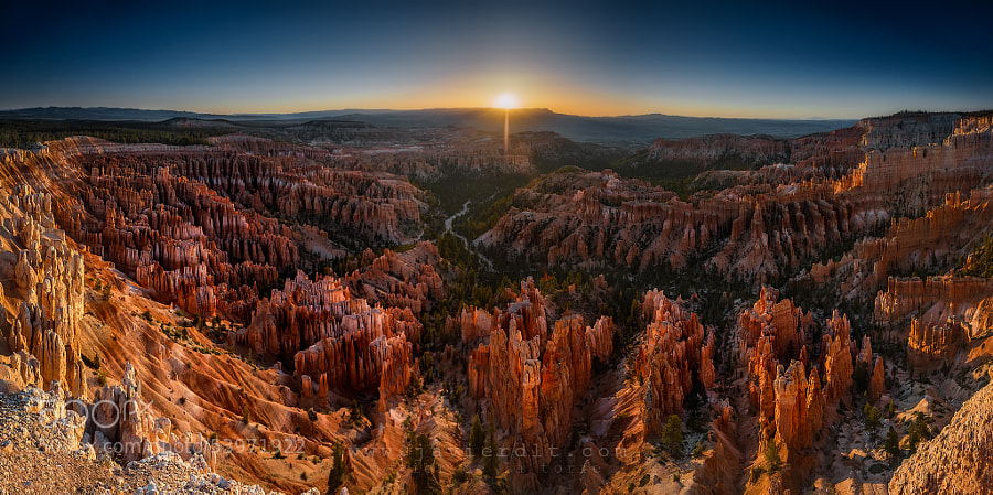 Photograph Bryce Canyon Sunrise by Javier de la Torre on 500px