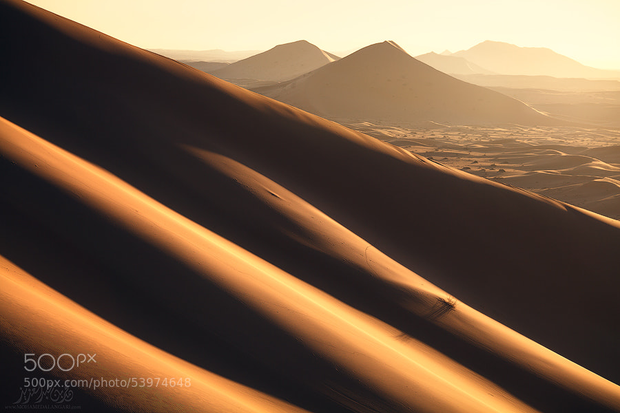 Photograph The light of the desert by Mohammed  ALangari on 500px