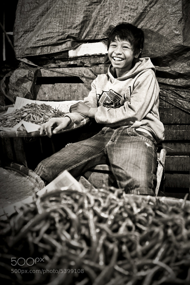 Photograph Smile of my life by Tedy Susanto on 500px