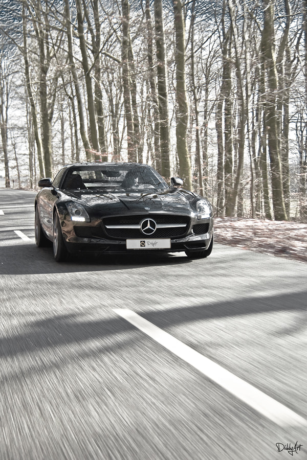 Photograph Mercedes SLS AMG by Claude Kayser on 500px