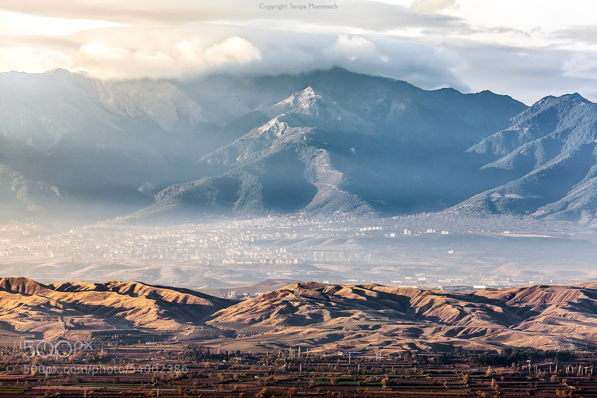 Photograph Morning light at Pamukkale by Sasipa Muennuch on 500px