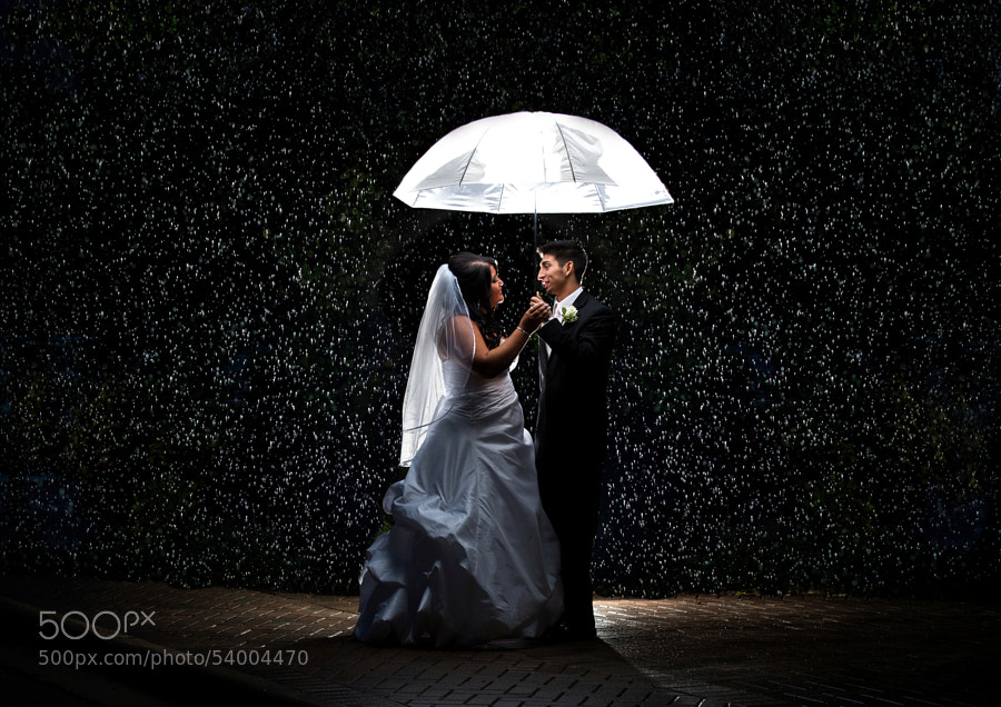Photograph Love in the Rain by Ron McKinney on 500px