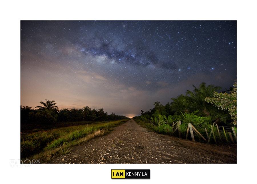 Milky Way @ Muar (Malaysia) by imkennylai  on 500px.com