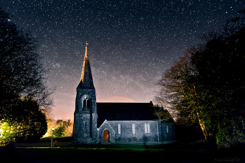 Photograph Cong by night by conor ledwith on 500px