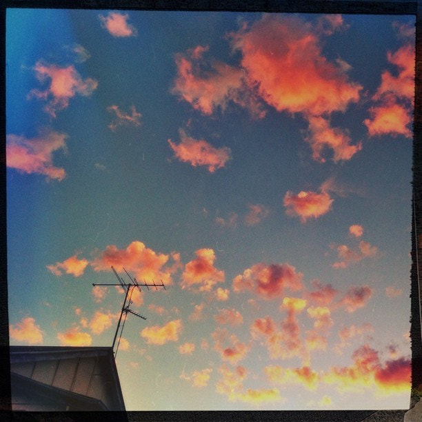 Photograph #sunset #goldcoast #iphone #clouds #djpaine #Hipstamatic #Oggl #Foxy #BigUp by DJ Paine on 500px