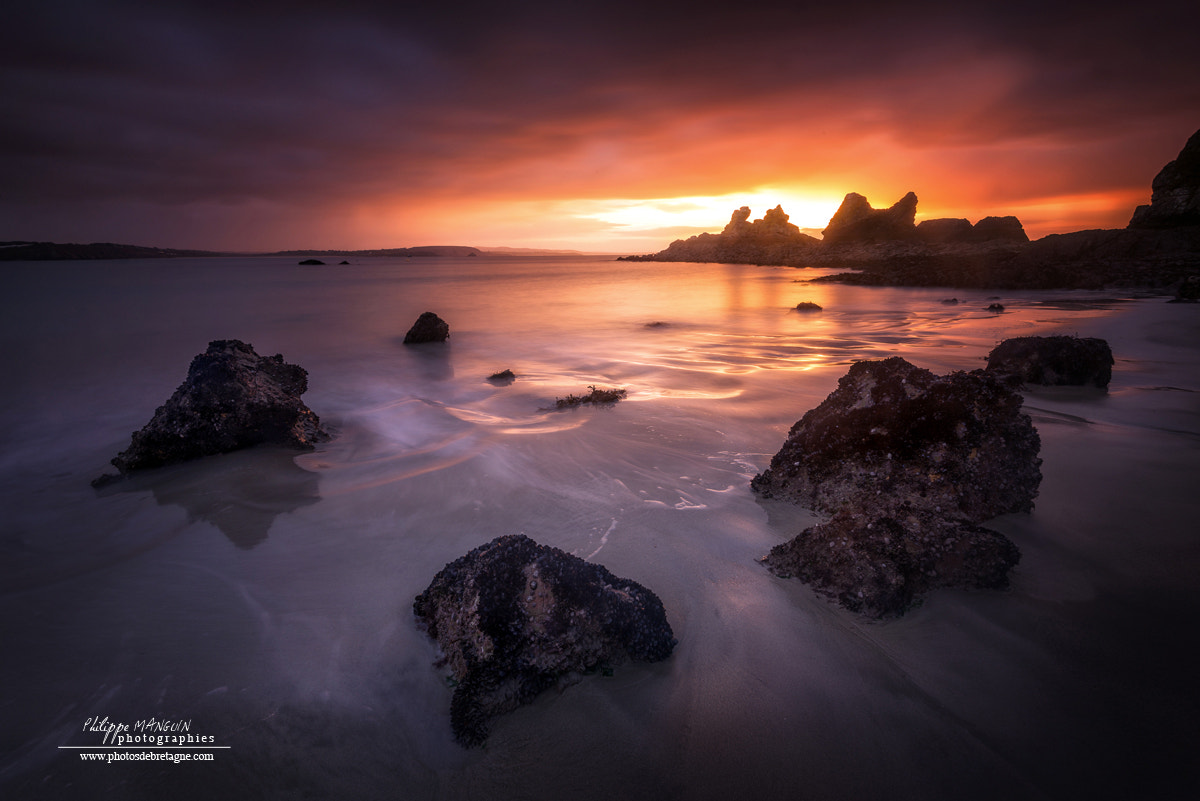 Photograph Morgat sunrise by Philippe MANGUIN on 500px