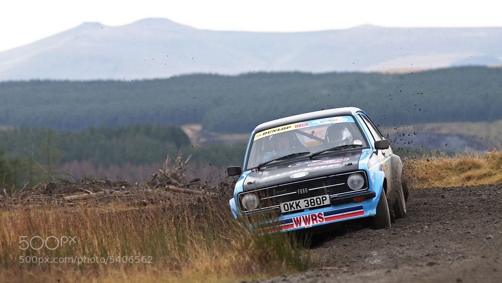 Photograph Ford Escort MK2 - Wales Rally GB by Ben Gilbert on 500px