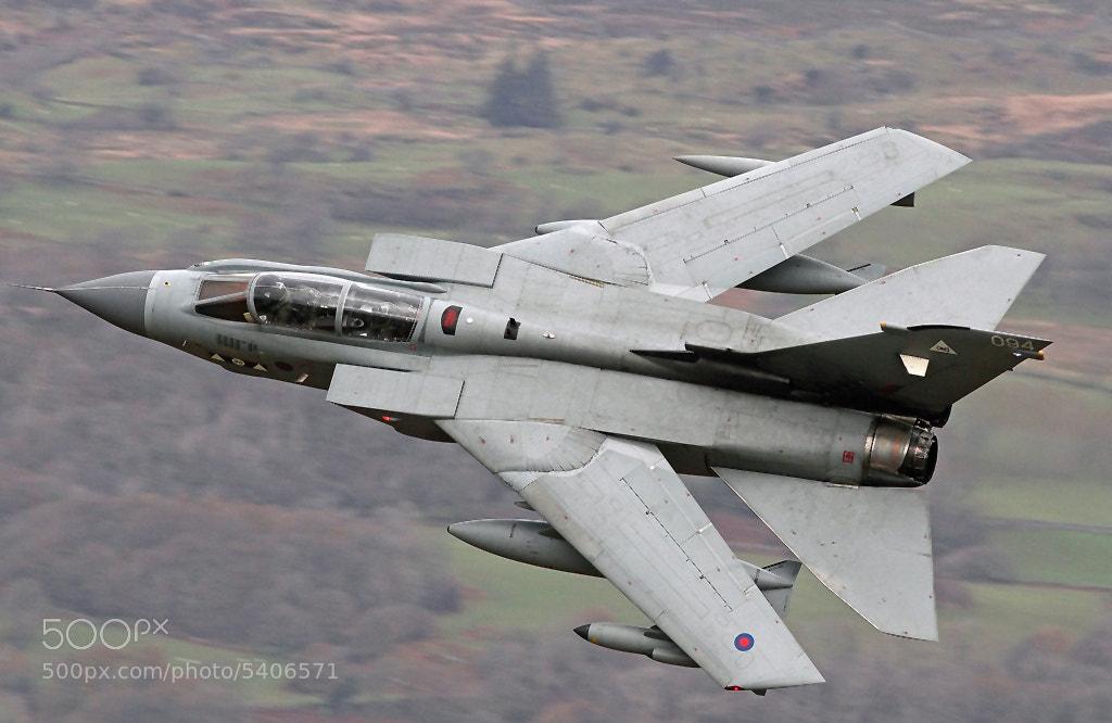 Photograph Panavia Tornado GR4 - Bwlch Exit - Mach loop by Ben Gilbert on 500px