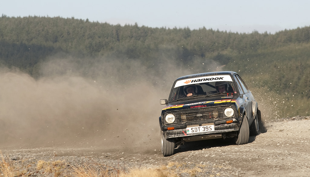 Photograph Ford Escort MK2 - Mid Wales Rally by Ben Gilbert on 500px